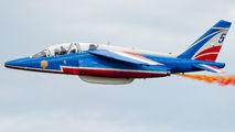 "FUGFK - France - Air Force ""Patrouille de France"" Dassault - Dornier Alpha Jet E aircraft"