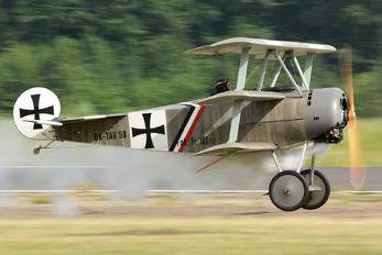 OK-TAV58 - Private Fokker DR.1 Triplane (replica)