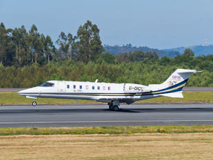 G-OICU - Capital Air Charter Learjet 45