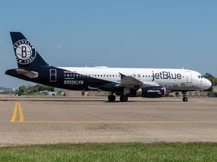 N633JB - JetBlue Airways Airbus A320