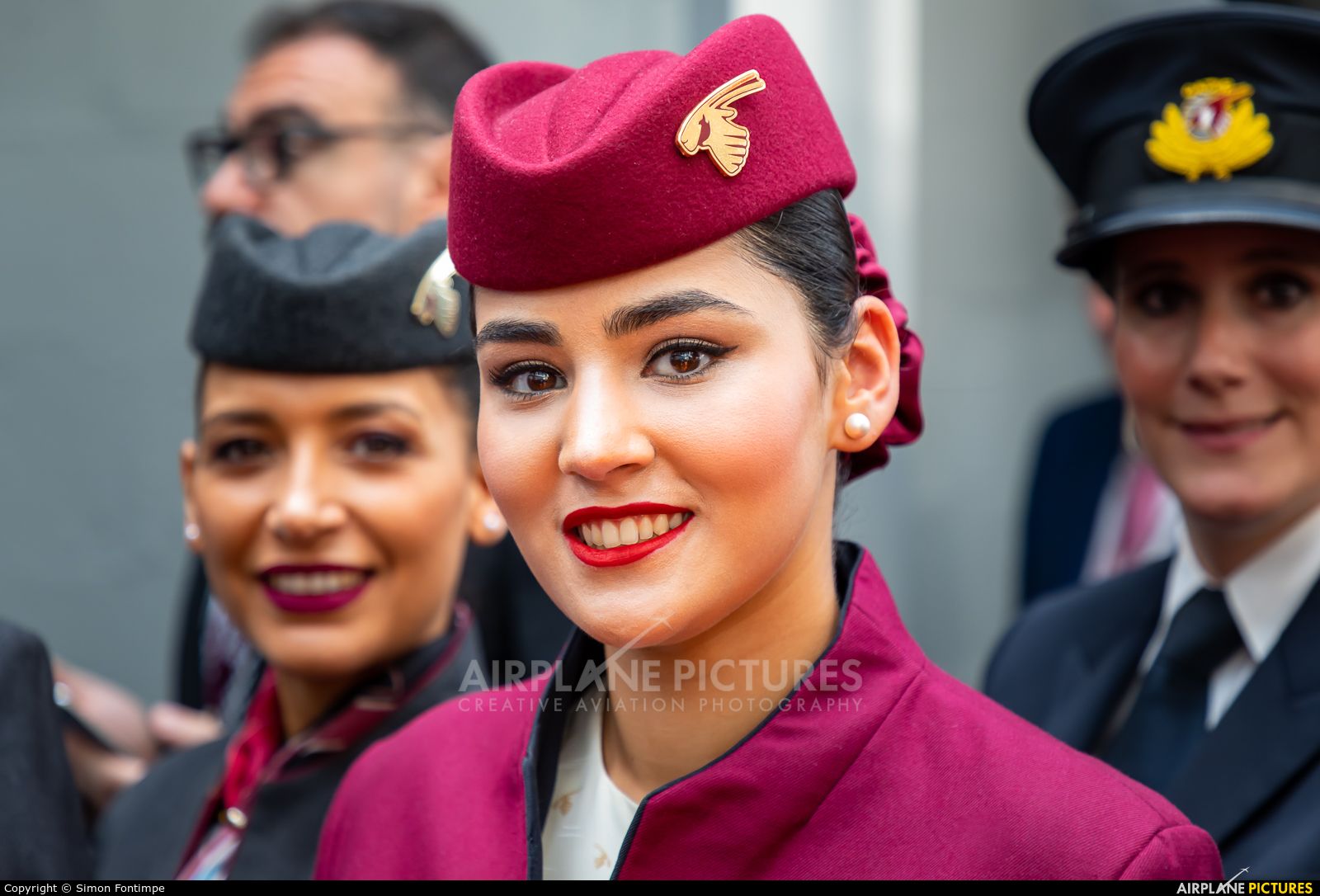 Qatar Airways - aircraft at Paris - Le Bourget