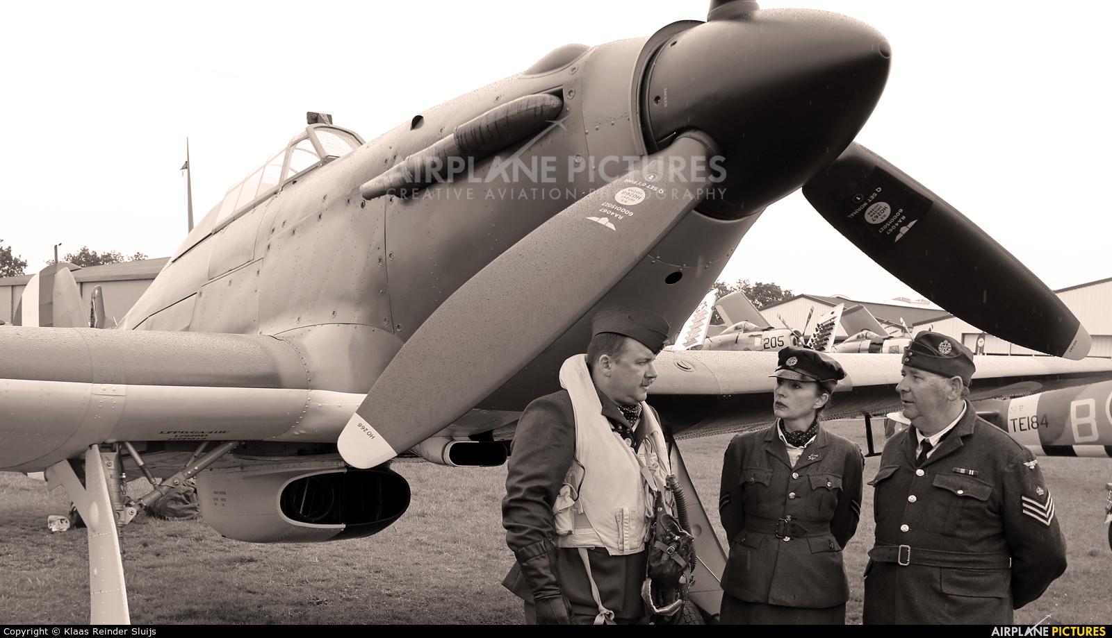 Private F-AZXR aircraft at La Ferté-Alais