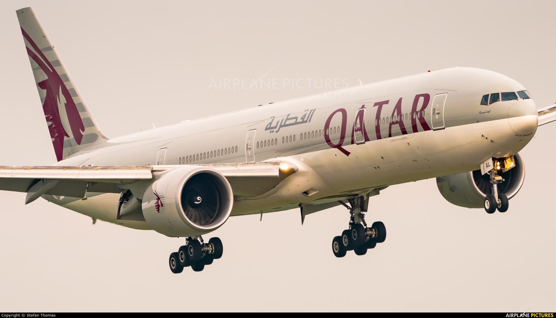 Qatar Airways A7-BAL aircraft at Munich