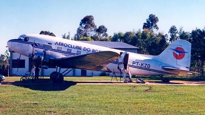 PT-KZG - Aeroclube do Rio Grande do Sul Douglas C-47B Skytrain