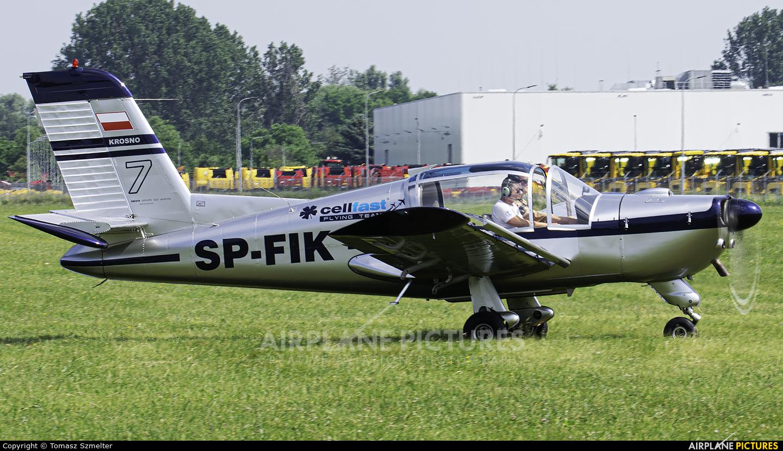 Private SP-FIK aircraft at Płock