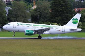 D-ABGO - Germania Airbus A319