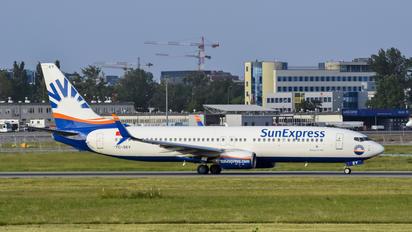 TC-SEY - SunExpress Boeing 737-800