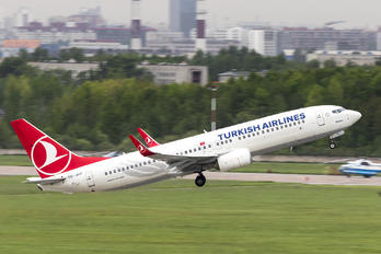 TC-JHY - Turkish Airlines Boeing 737-800