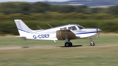 G-CDEF - Private Piper PA-28-161 Cherokee Warrior II