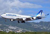 F-HSEA - Corsair / Corsair Intl Boeing 747-400 aircraft