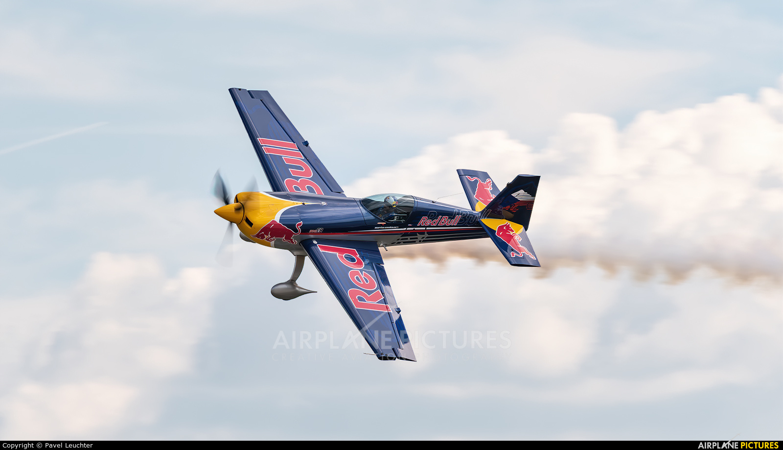 The Flying Bulls OK-SON aircraft at Pardubice