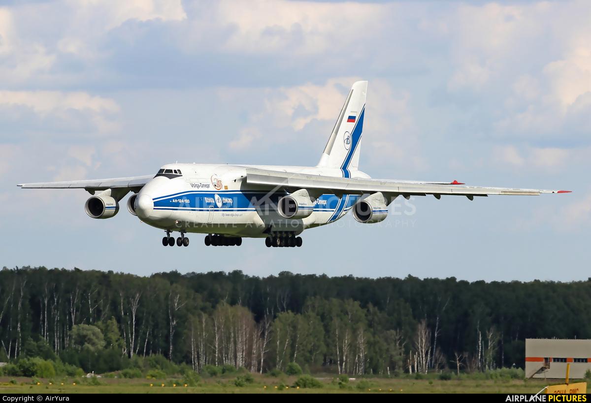 Volga Dnepr Airlines RA-82044 aircraft at Moscow - Domodedovo