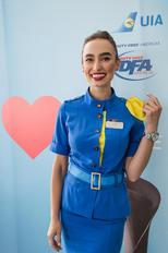 - - Ukraine International Airlines - Aviation Glamour - Flight Attendant