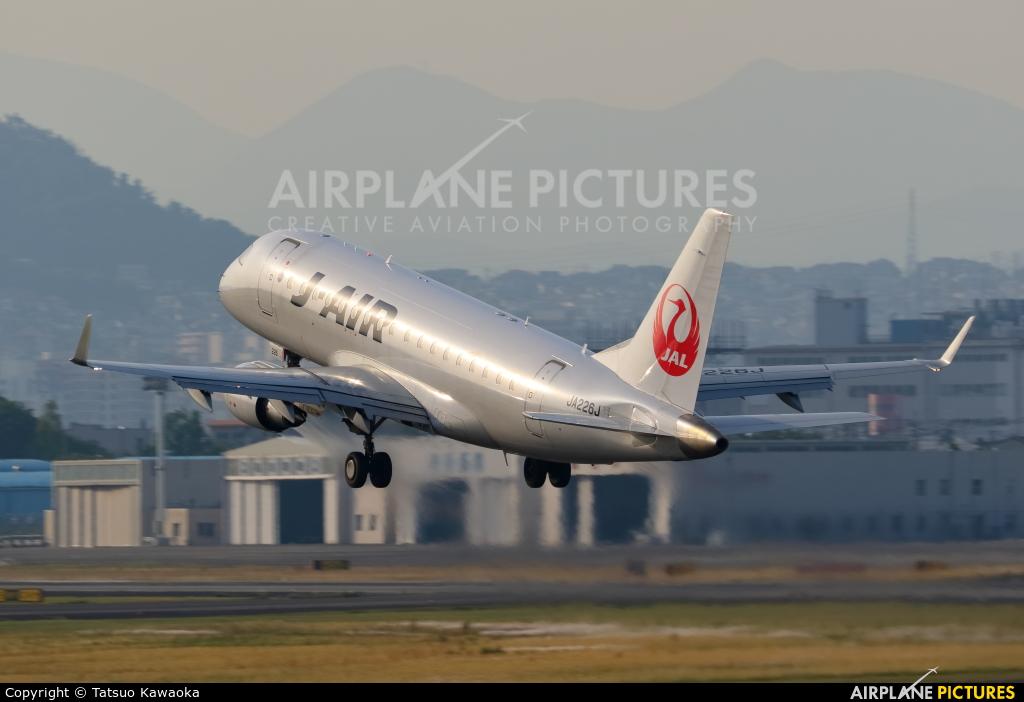 J-Air JA226J aircraft at Osaka - Itami Intl