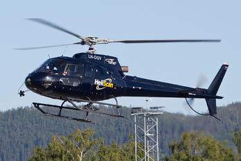 LN-OGV - Heliscan Eurocopter AS350 Ecureuil / Squirrel