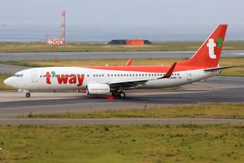 HL8086 - T'Way Air Boeing 737-800