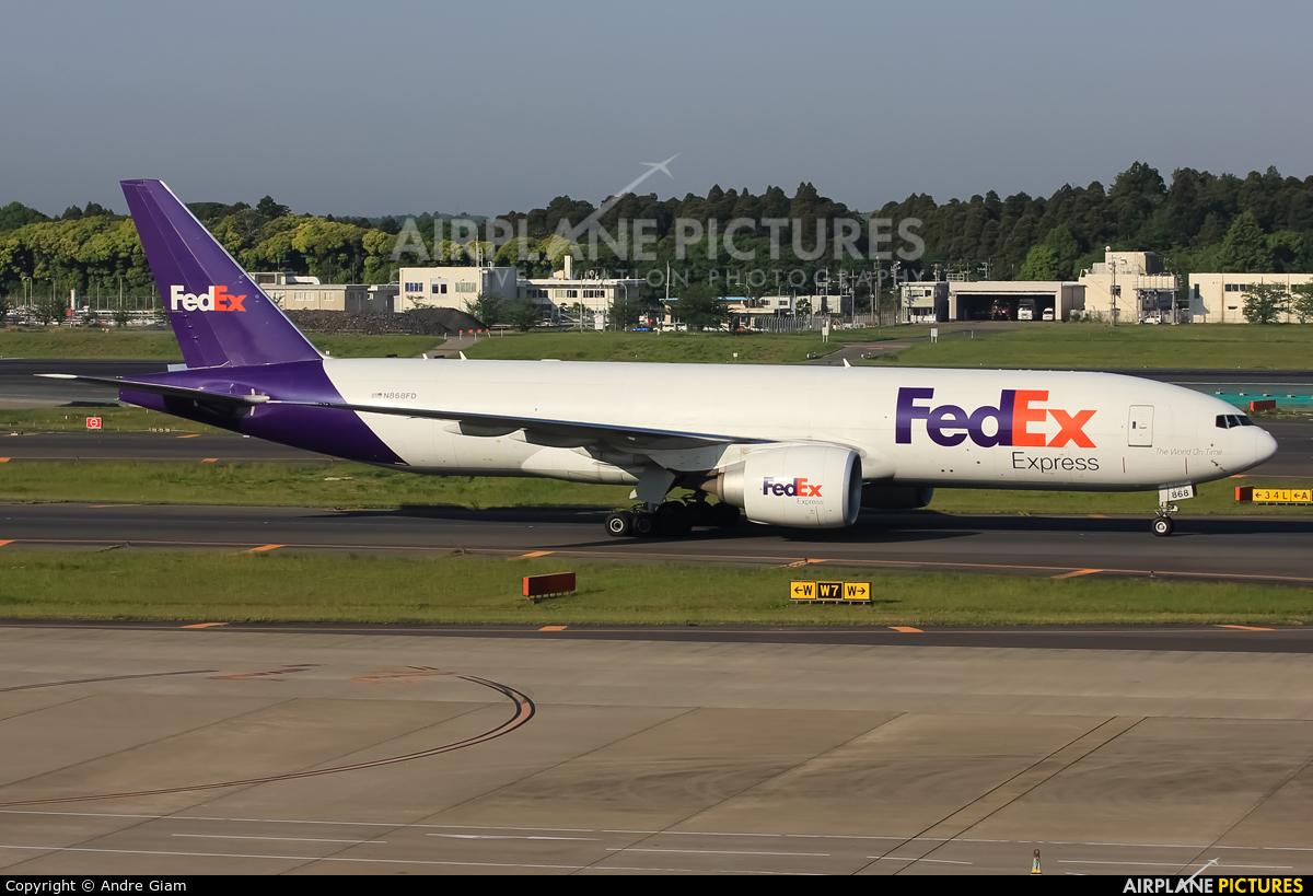FedEx Federal Express N868FD aircraft at Tokyo - Narita Intl