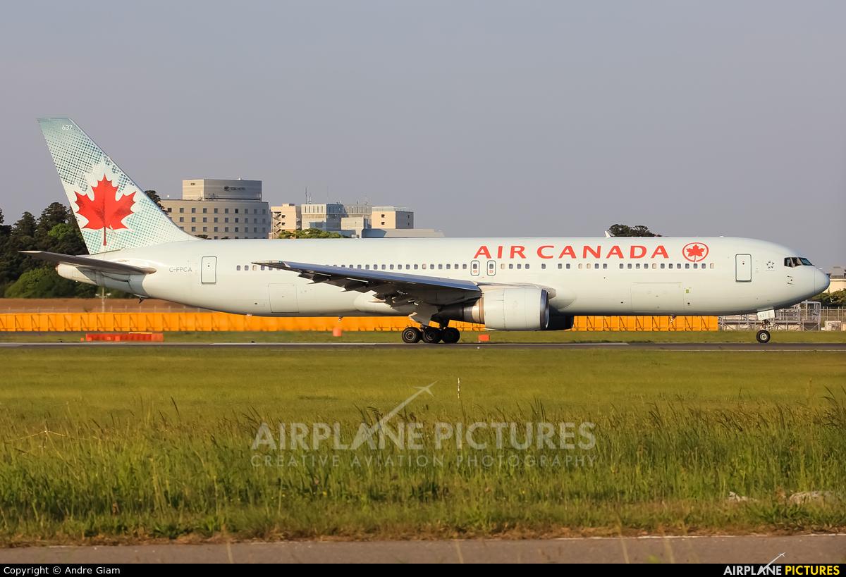 Air Canada C-FPCA aircraft at Tokyo - Narita Intl