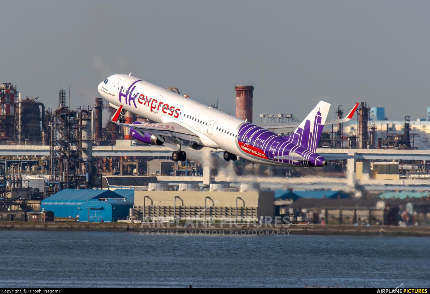 Hong Kong Express B-LEE aircraft at Tokyo - Haneda Intl