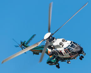 OH-HVP - Finland - Border Guard Eurocopter AS332 Super Puma