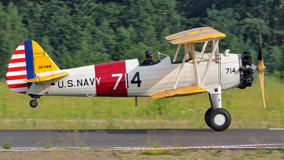 SP-YWW - Private Boeing Stearman, Kaydet (all models)