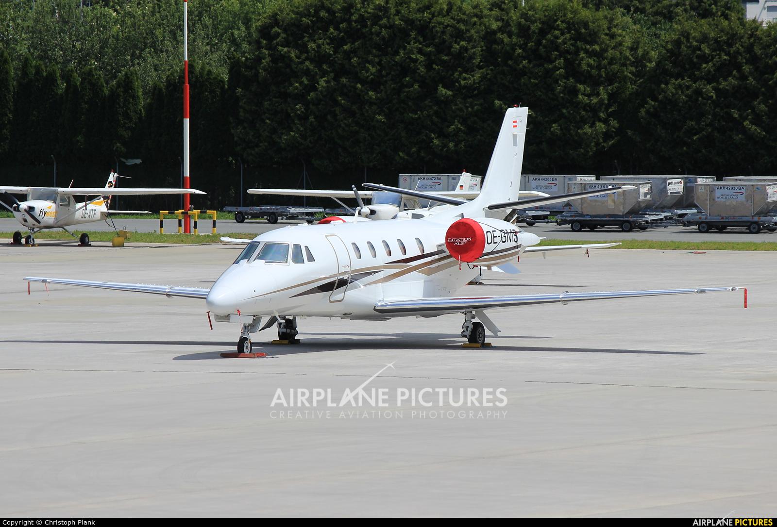 Avcon Jet OE-GMS aircraft at Innsbruck