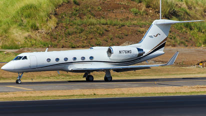 N176MG - Private Gulfstream Aerospace G-IV,  G-IV-SP, G-IV-X, G300, G350, G400, G450
