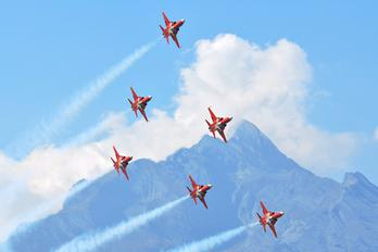 J-30** - Switzerland - Air Force:  Patrouille de Suisse Northrop F-5E Tiger II