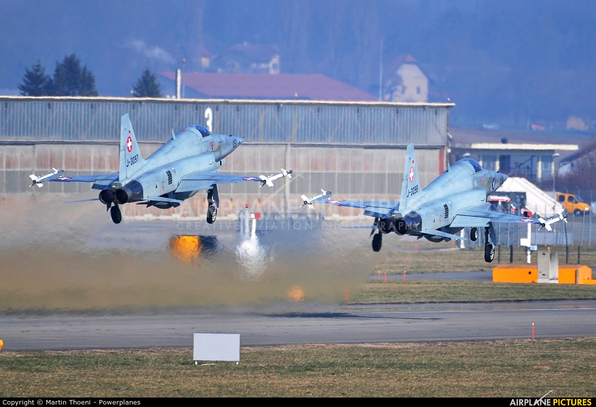 Switzerland - Air Force J-3097 aircraft at Payerne