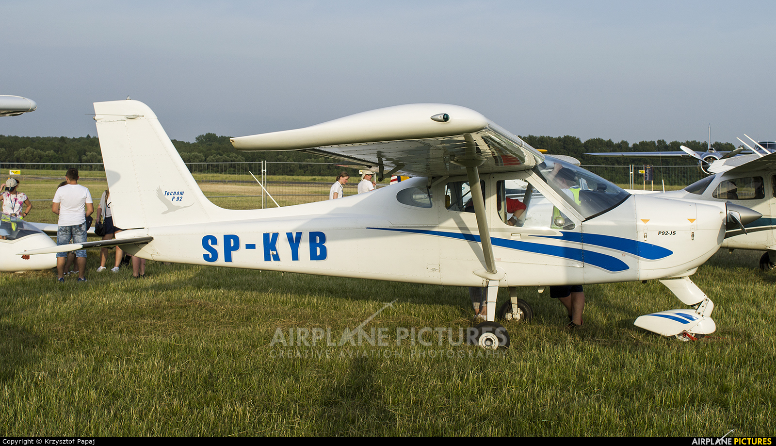 Private SP-KYB aircraft at Katowice Muchowiec