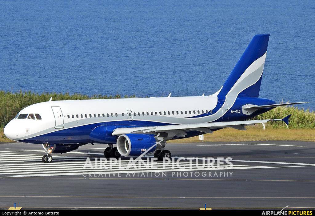 Hi Fly Malta 9H-TLS aircraft at Azores - Ponta Delgada
