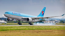 HL7539 - Korean Air Airbus A330-200 aircraft