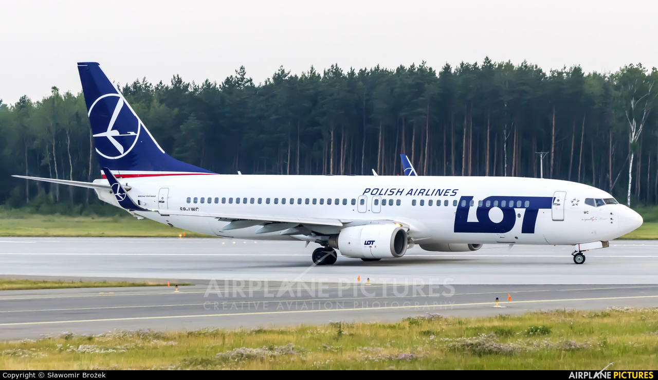 LOT - Polish Airlines SP-LWC aircraft at Katowice - Pyrzowice