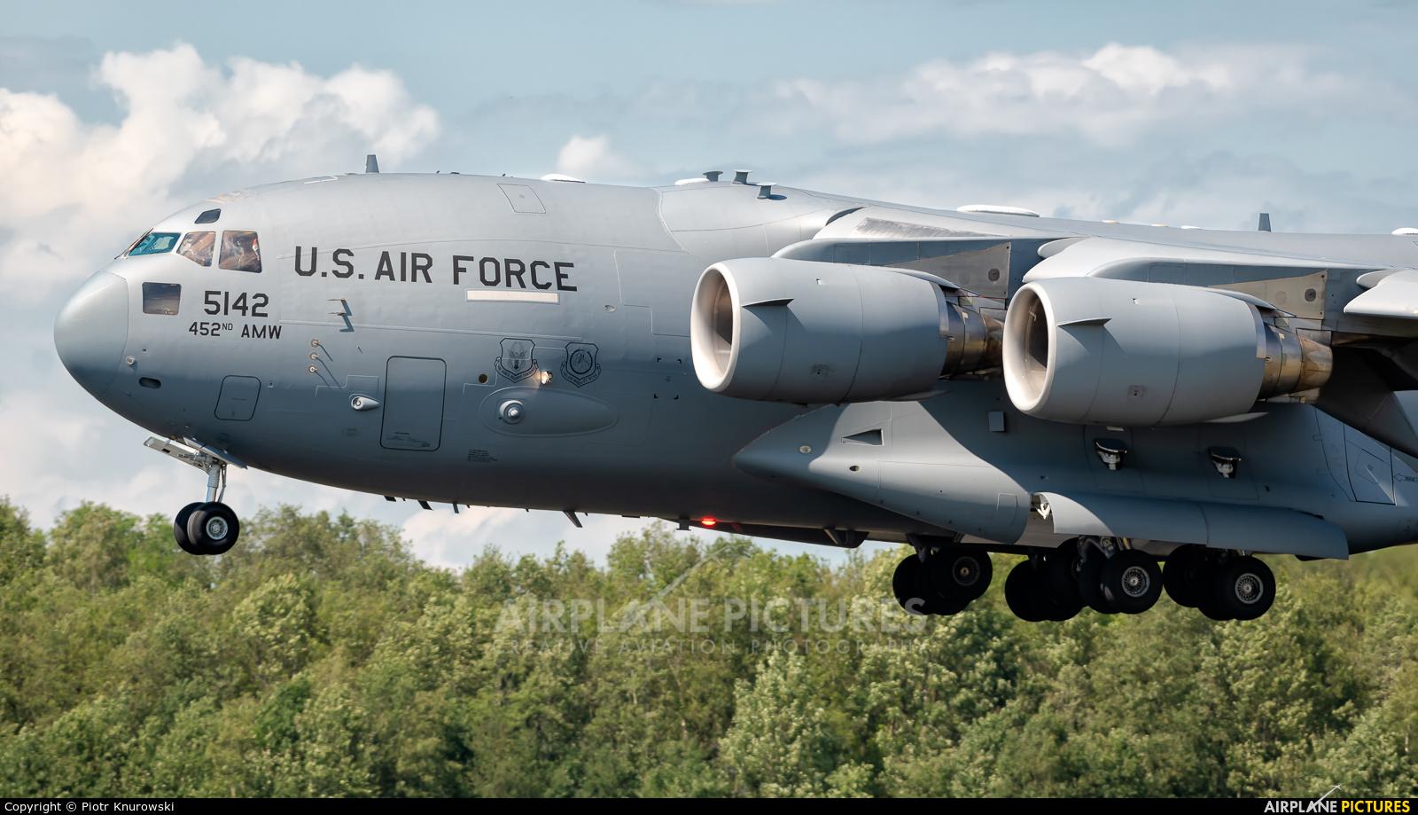 USA - Air Force 05-5142 aircraft at Uden - Volkel