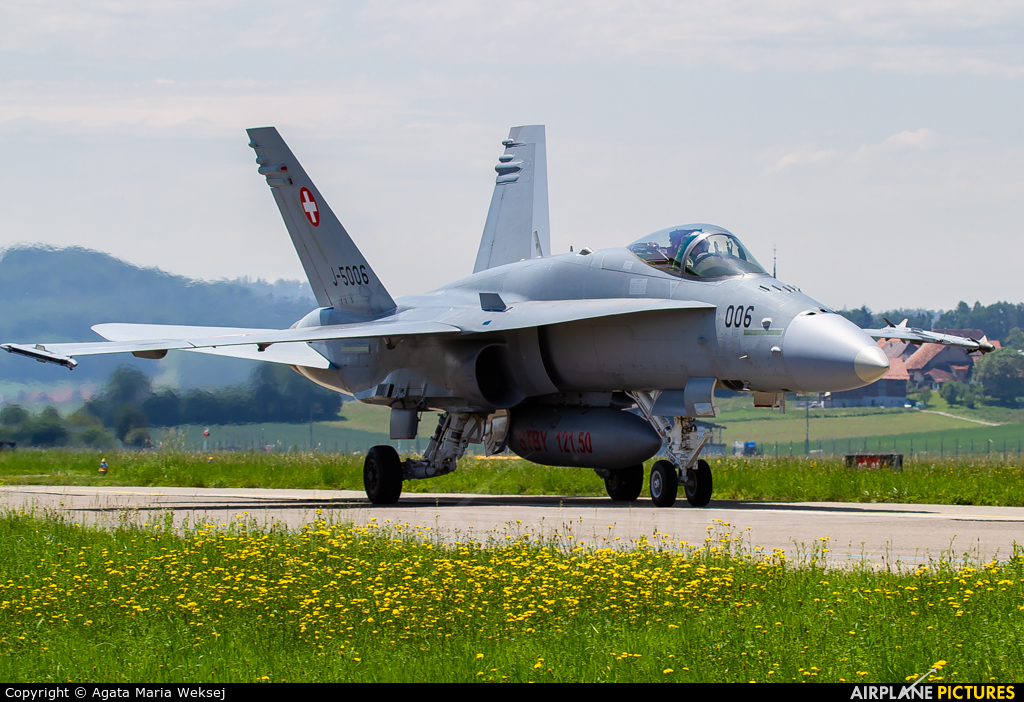 Switzerland - Air Force J-5006 aircraft at Payerne