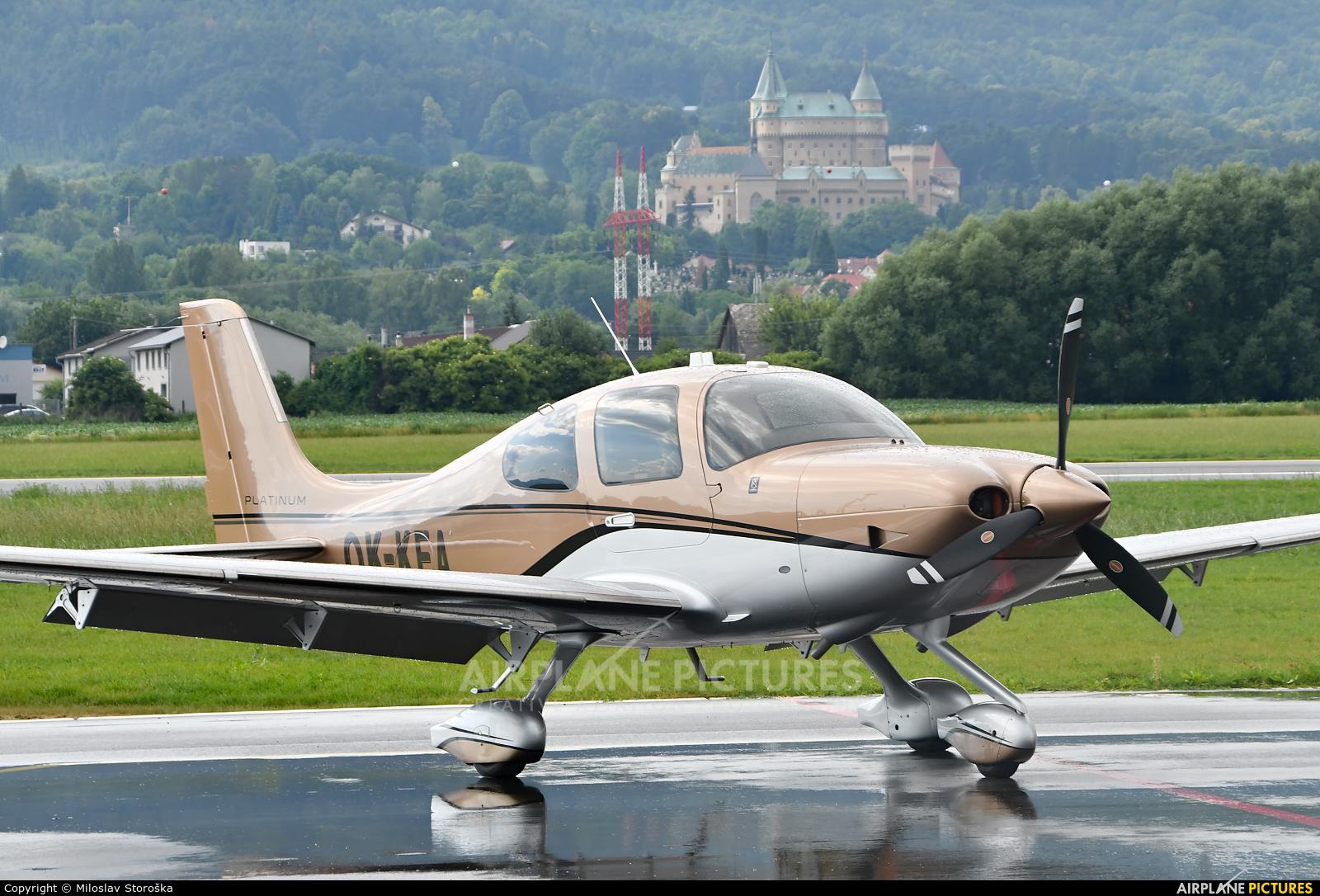 Private OK-KEA aircraft at Prievidza
