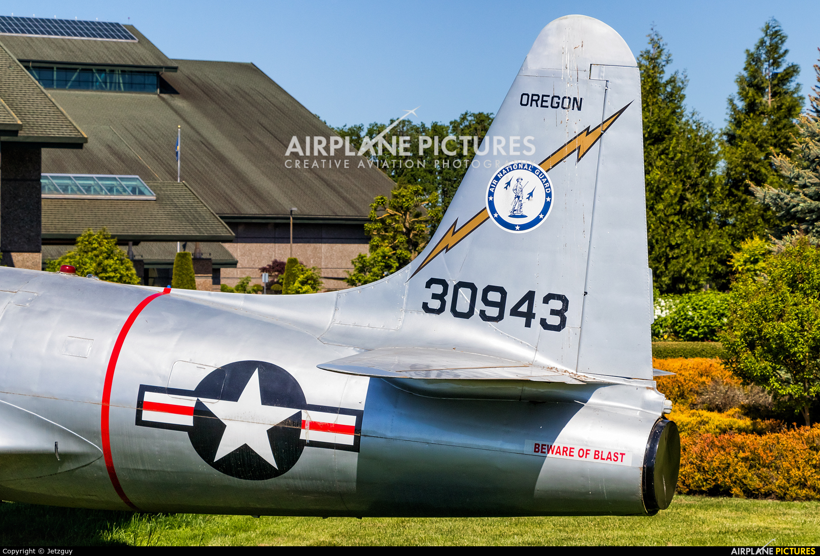 USA - Air Force 30943 aircraft at McMinnville - Evergreen Aviation & Space Museum