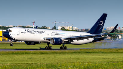 EI-GEP - Blue Panorama Airlines Boeing 767-300ER