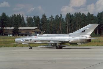MG-33 - Finland - Air Force Mikoyan-Gurevich MiG-21F-13