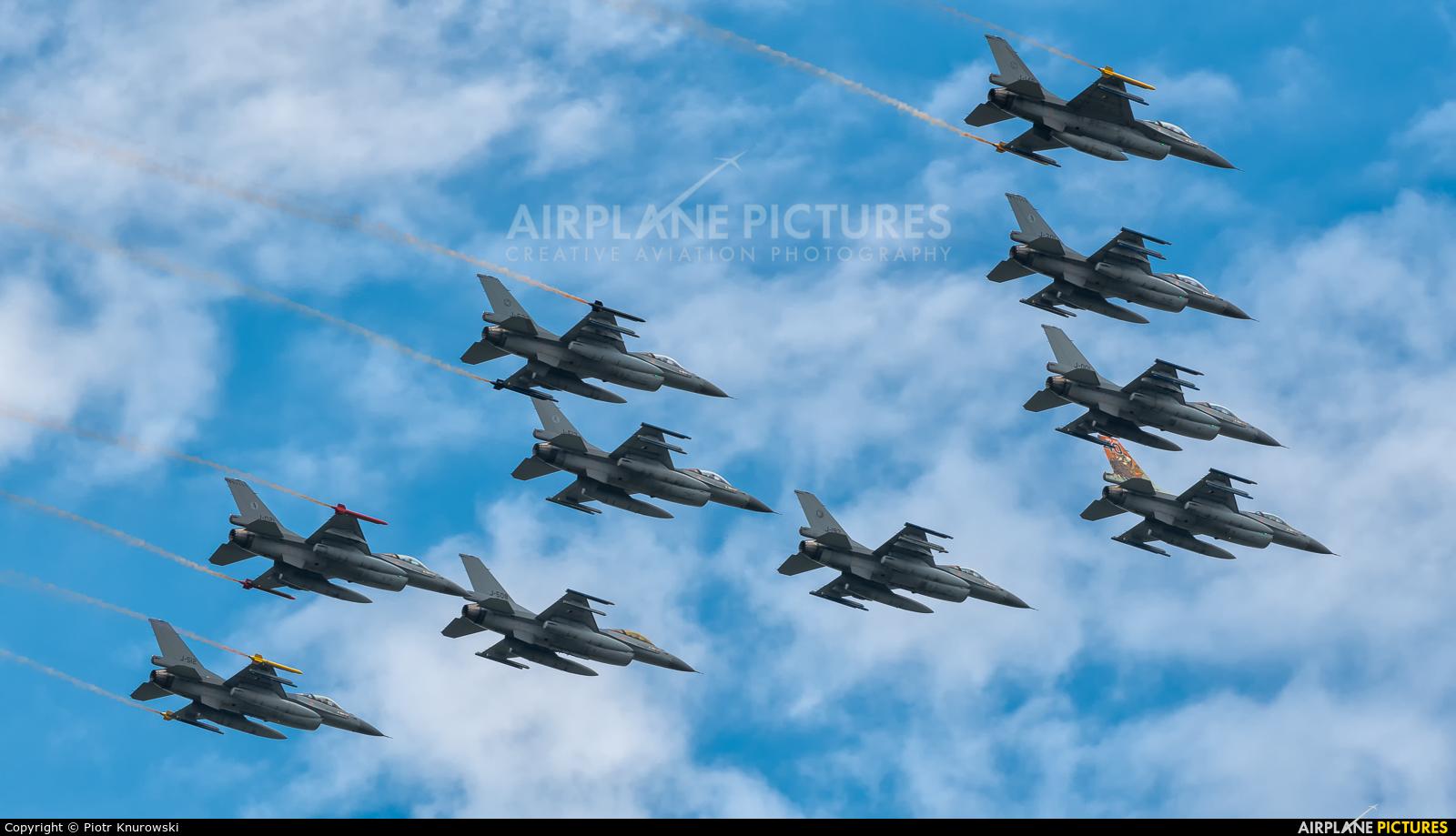 Netherlands - Air Force J-642 aircraft at Uden - Volkel