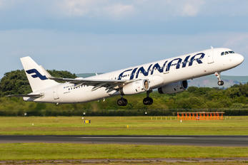 OH-LZO - Finnair Airbus A321