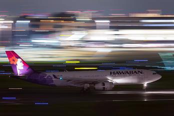 N396HA - Hawaiian Airlines Airbus A330-200