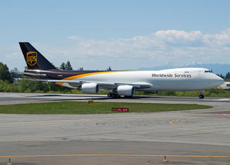 N615UP - UPS - United Parcel Service Boeing 747-8F