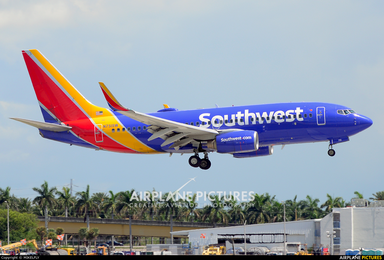 Southwest Airlines N751SW aircraft at Fort Lauderdale - Hollywood Intl