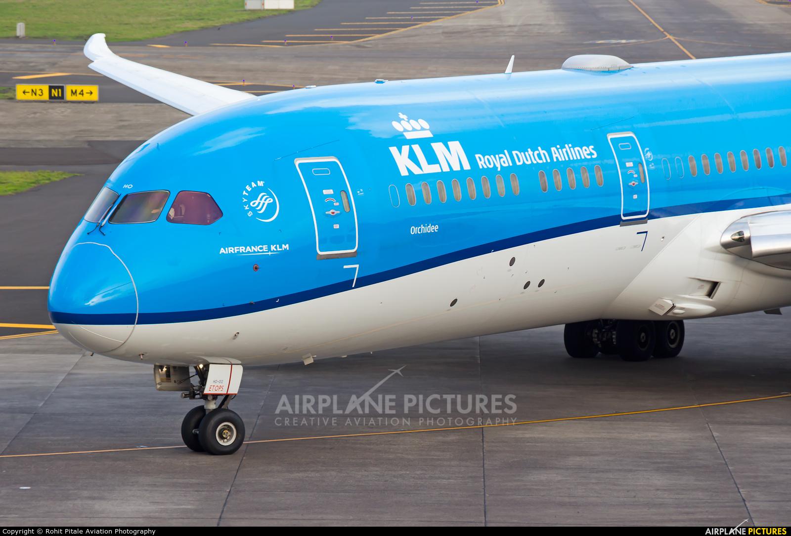 KLM PH-BHO aircraft at Mumbai - Chhatrapati Shivaji Intl
