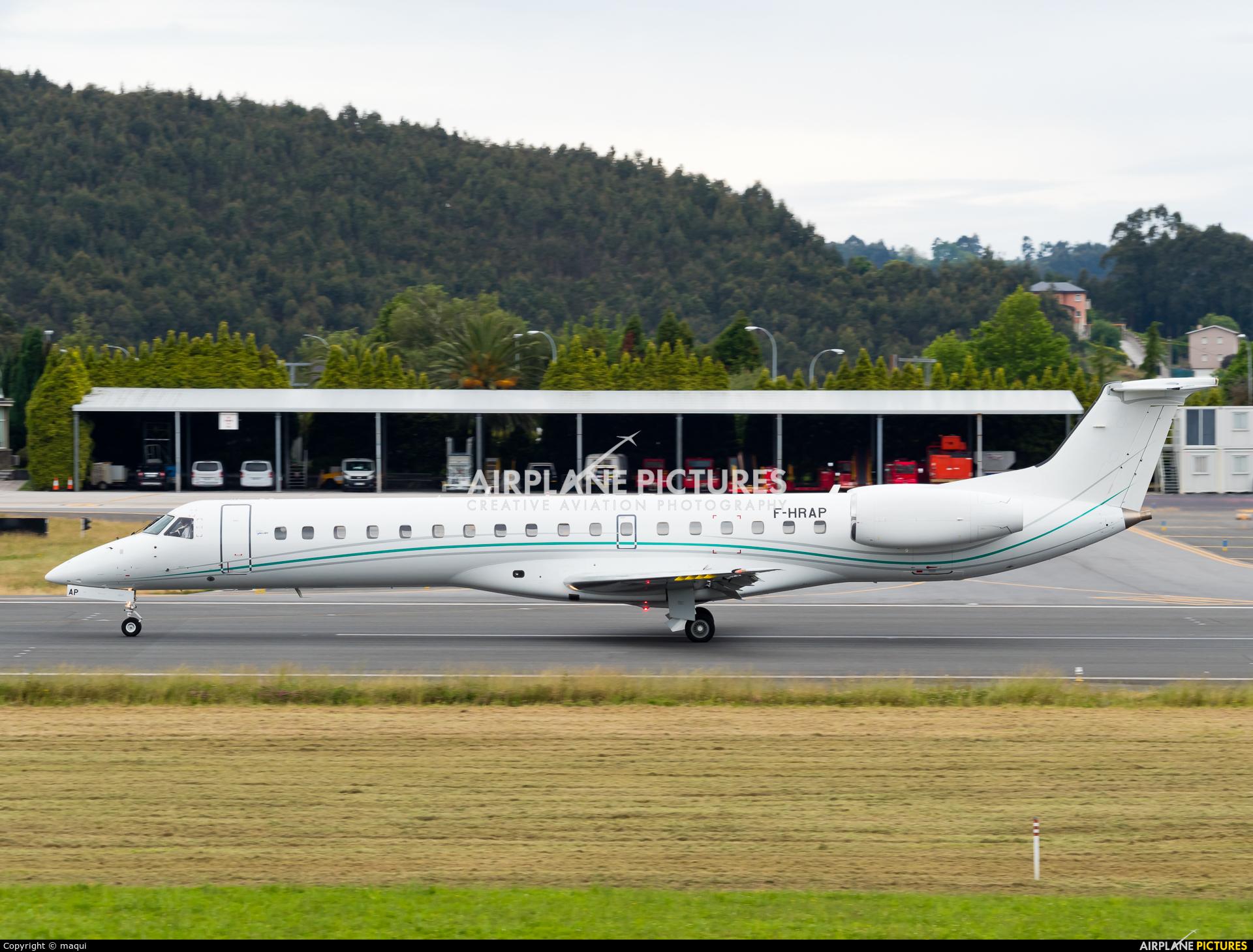 Aero4m F-HRAP aircraft at La Coruña