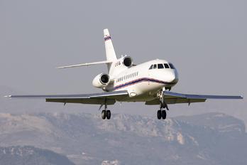 HB-IUW - Private Dassault Falcon 900 series
