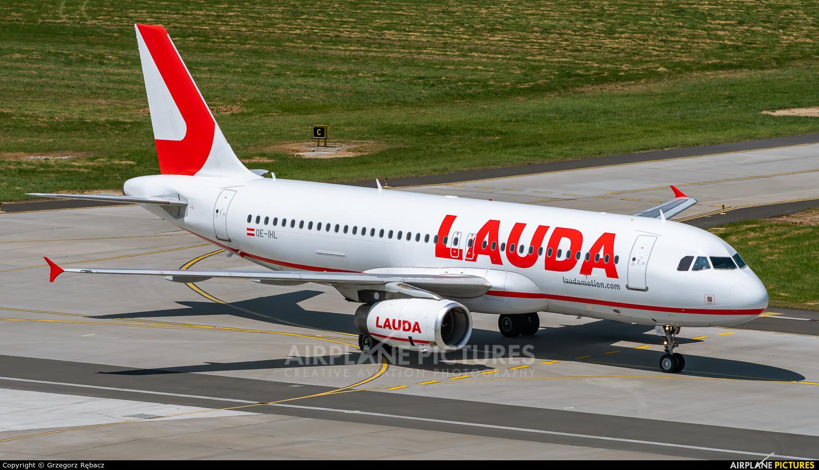 LaudaMotion OE-IHL aircraft at Kraków - John Paul II Intl