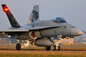 J-5018 - Switzerland - Air Force McDonnell Douglas F/A-18C Hornet