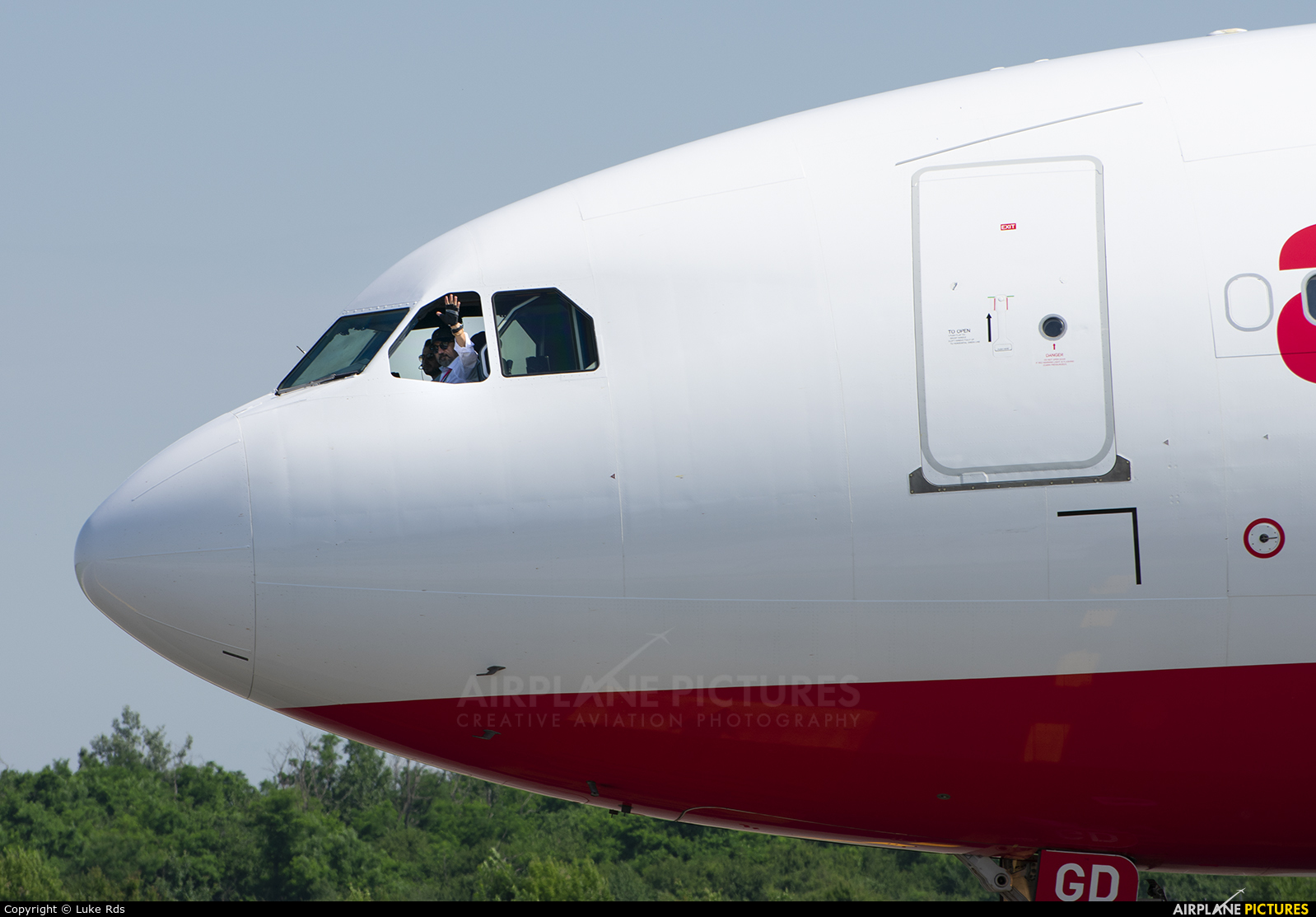 Atlasglobal TC-AGD aircraft at Bucharest - Henri Coandă